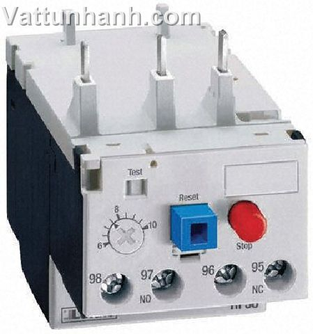 Relay, overload, thermal, 3-pole, 20-25A, compatible with 9 -38A Contactor